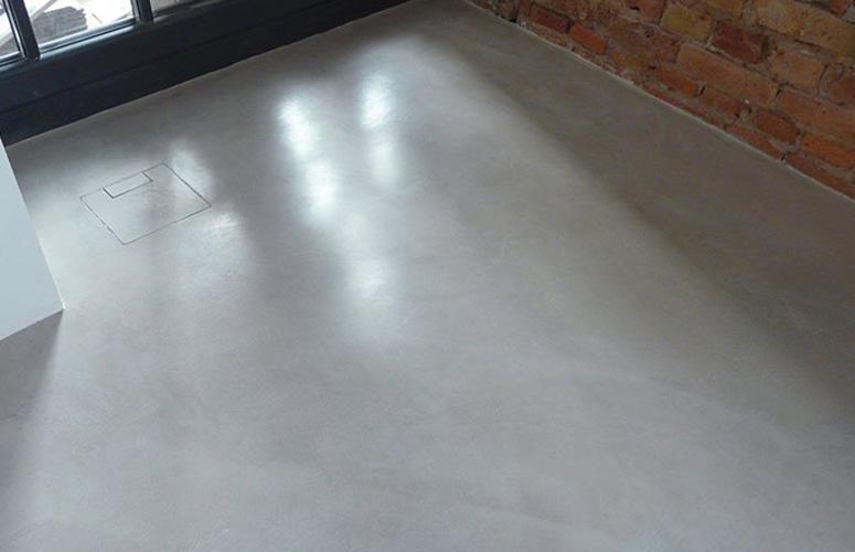 Fußbodenbelag Zum Gießen ~ Referenz boden wohndesign beton statt fliesen betonoptik