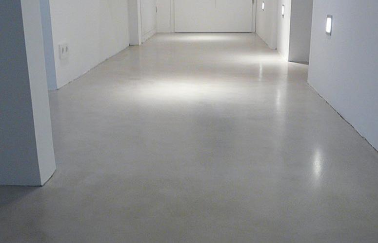 Fußboden Beton Optik ~ Flur beton wohndesign beton statt fliesen betonoptik