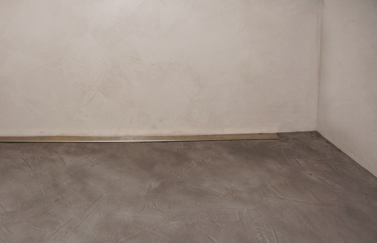 Fußboden Gießen Auf Fliesen ~ Beton floor wall bad wohndesign beton statt fliesen