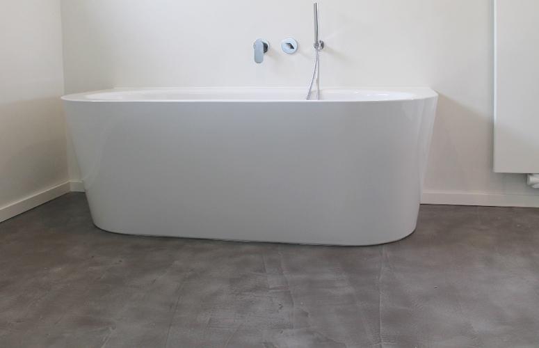 Fußboden Beton Optik ~ Beton floor bad wohndesign beton statt fliesen betonoptik